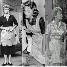 TV moms:  Lucy, Donna Reed, June Cleaver