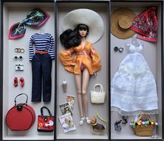 Sign of the Times Poppy (Brunette) Barbie Doll Set, Barbie Sets, Beautiful Barbie Dolls, Fashion Royalty Dolls, Fashion Dolls, Baby Boy Knitting Patterns, Barbie Fashionista Dolls, Barbie Doll Accessories, Barbie Collection