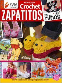 Crochet ZAPATITOS para NIÑOS Nº 02 - 2016