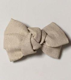 大人のためのリボンバレッタの作り方|その他|ファッション小物|ハンドメイド | アトリエ