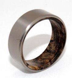 Men's wedding band- these rings are sweeeeeeet!