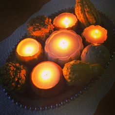 Lisa loves John: DIY Gourd Soy Candles #tpppfeature