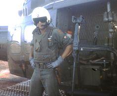 Huey Helicopter Door Gunner ~ Vietnam War