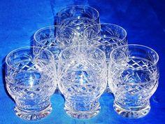 Vintage-STUART-Crystal-IMPERIAL-Tumblers-Juice-Glasses