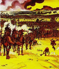"Philippe Druillet - ""Salaambô"" Adaptation of Salaambô, novel by Gustave Flaubert"