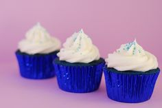 Bake.Frost.Repeat: Blue Velvet Cupcakes