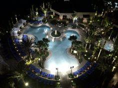 Wyndham Grand Orlando Resort Bonnet Creek: Main Pool From Balcony