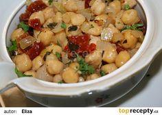 Cizrna se sušenými rajčaty recept - TopRecepty.cz Black Eyed Peas, Quinoa, Potato Salad, Macaroni And Cheese, Beans, Gluten Free, Favorite Recipes, Lunch, Food And Drink