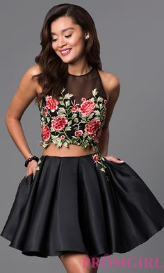 Dave Johnny dress, Print Dave Johnny dresses Lace Black Dress, Dress Two Piece, Lace Dress, Black Dress Fashion Dresses 2019 Hoco Dresses, Dresses For Teens, Pretty Dresses, Homecoming Dresses, Formal Dresses, Two Piece Homecoming Dress, Tight Dresses, Two Piece Short Dress, Formal Cocktail Dress