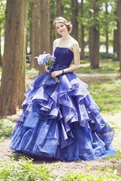 no.23794 - COLOR | 新宿でウェディングドレスをレンタルするならブライダルサロンHANA