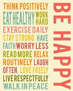 be happy :)