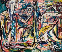 Jackson Pollock, Circumcision on ArtStack #jackson-pollock #art