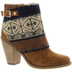 Jessica Simpson Cassley (Women's) (8.230 RUB) ❤ liked on Polyvore featuring shoes, boots, ankle booties, ankle boots, heels, brown, heeled booties, high heel boots, heeled ankle boots and suede ankle boots