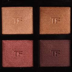 Tom Ford Honeymoon Eyeshadow Quad Review, Photos, Swatches