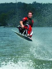 Adaptive wakeboarding with Adaptive Adventures