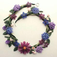 Bead flowers