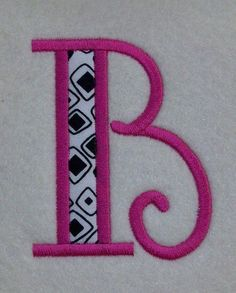 Embroidery Machine Applique Alphabets Fonts and by ZoeysDesigns, $7.50