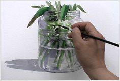 Картинки по запросу как рисовать стекло акварелью