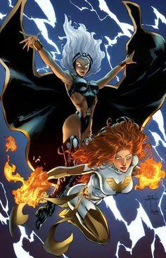 Storm & Phoenix by Jason Metcalf