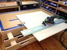 Workbench - Clamping table