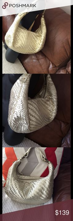💞GORGEOUS golden purse💞 Preowned, very clean and excellent condition Cole Haan Bags Hobos
