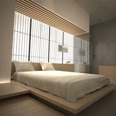 modern japanese bedroom - Google Search