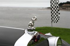 If there's one feature I miss from old cars, it's the hood ornament.
