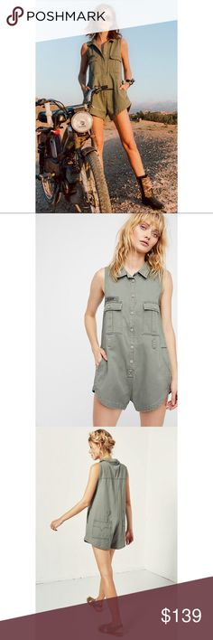 SPELL 💚 Dusk Boiler Romper / Jumpsuit Size XL IMPOSSIBLE TO FIND IN THE U.S. Worn once. No flaws/damages. XL fits like M/L due to Australian sizing (fitted & short). Sturdy yet soft material. Trendy army green. Cute buttoned up & open with a tank top/brami underneath. Looks great with a belt -has belt loops. 💚 REASONABLE OFFERS ENCOURAGED! ⬇️⬇️⬇️Ⓜ️ Spell & The Gypsy Collective Pants Jumpsuits & Rompers