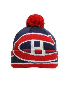 Montreal Canadiens Vintage Cuffed Pom Knit