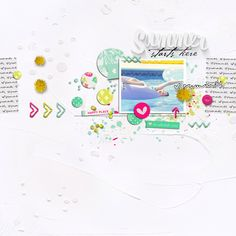 Summer Starts Here by Jenn McCabe with June BYOC goodies!!! (at TLP!!)