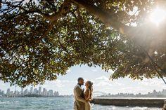 Bradley's Head wedding ceremony - Photo by Girl in the White Dress Sydney Wedding, French Photographers, Wedding Ceremony, Wedding Photos, White Dress, Wedding Photography, Couple Photos, Nature, Dresses