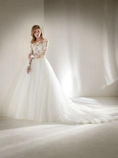 Suknia ślubna szczupłe panny młode efekt drugiej skóry