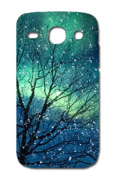 NEW CUSTODIA COVER CASE ALBERO AURORA BLU PER SAMSUNG GALAXY CORE PLUS SM-G350 | eBay