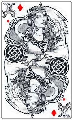 - Slavic goddess - Lada - by Losenko.deviantart.com on @DeviantArt
