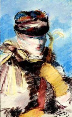 File:Édouard Manet - Méry Laurent à la Voilette.jpg