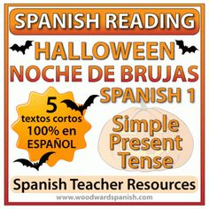 Spanish 1 Reading about Halloween – Noche de Brujas