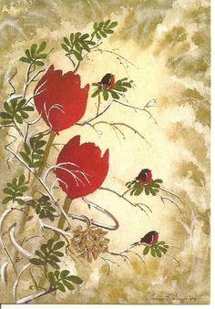 ˇˇ Tulips, Anna, Painting, Painting Art, Paintings, Tulip