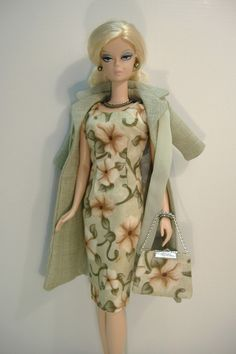 Handmade Coat and Dress for Silkstone Fashion Model Barbie (slim body) in | eBay