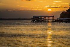 St Johns River Sunset http://BeachCam.Worldventures.Biz
