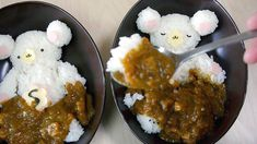 Flower Bears in the Curry Hot Spring 花くま ハピファミおふとんカレー