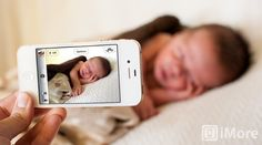 How to take great, professional looking pictures of your baby with an iPhone - General tips and tricks too!