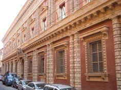 Palazzo Fantuzzi, Bologna, Italy; begun 1521.