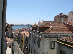 Apartment in Lisboa, Portugal. Lisbon's top experience! In the traditional Bica/B.Alto neighbourhood a two bedroom apartment with Tagus River view located in historical and iconic street. 3 min walk from Baixa Chiado station and all public transportation (trams, buses and train...