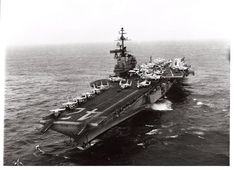 USS Franklin D. Roosevelt (CV-42) was a Midway-class aircraft carrier that served in the US Navy from 1945 to 1977 and largely operated in the Mediterranean.