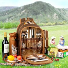 10 Romantic Picnic Baskets that You Can Buy Right Now! | DesignRulz
