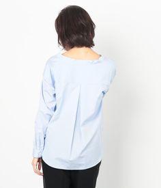 ロペ   【トールサイズ】ブロードカシュクールシャツ - 2