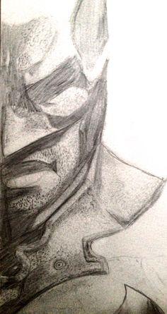 Batman  Crayon de bois