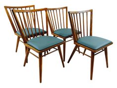 Mid-Century Conant Ball Russell Wright Chairs on Chairish.com