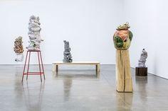 arlene shechet - her pedestal game is on point