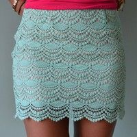 Piace Boutique - Sweet Treat Skirt (2 Colors) in Bottoms